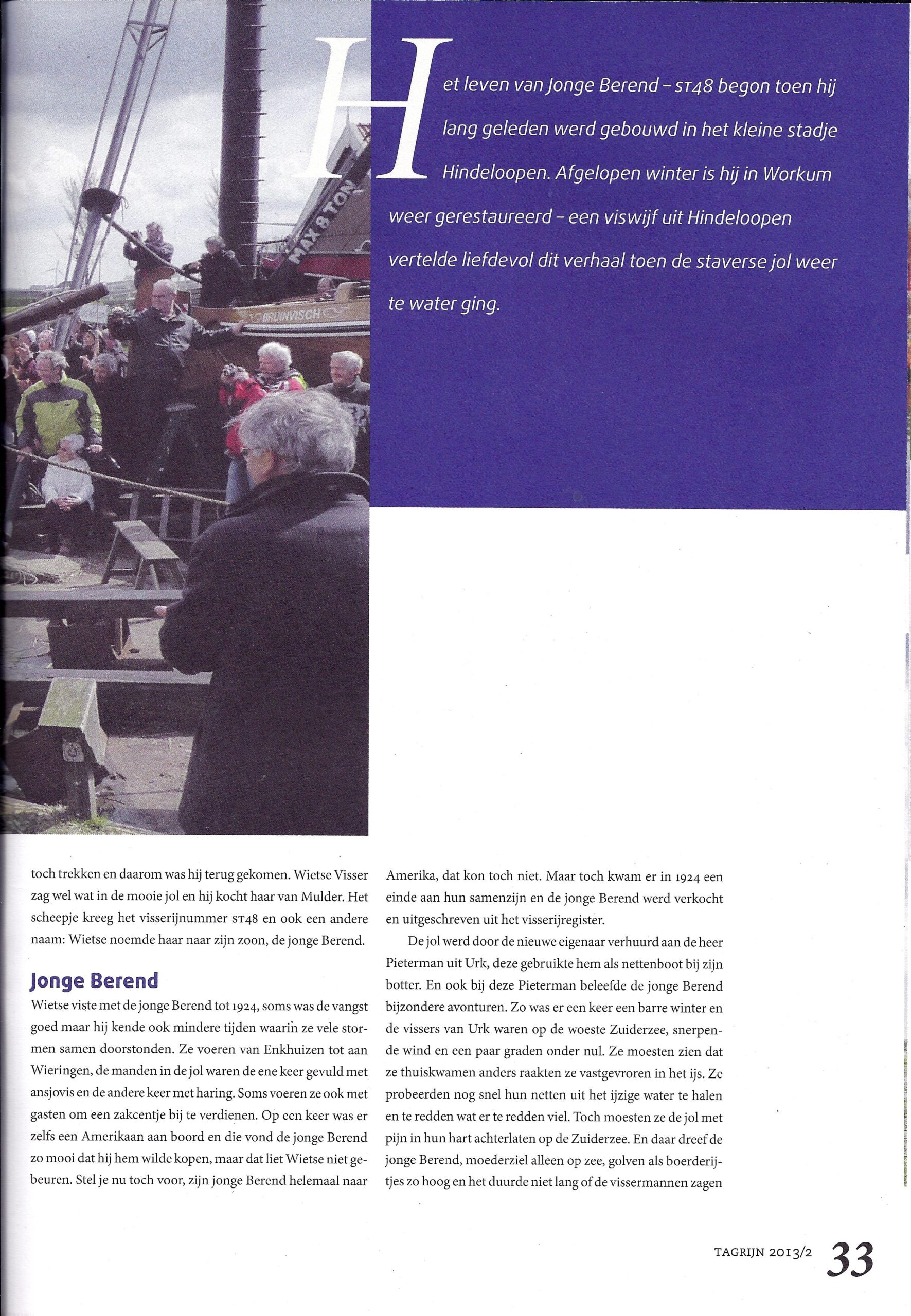 Tagrijn 2013 |tewaterlating ST48 | Pagina 2.